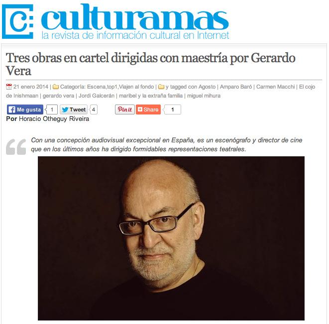 Culturamas Gerardo
